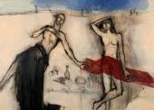 ECHAZARRETA-N°275-celebration-a-plein-soleil-81x100