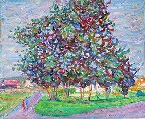 Bouquet d arbres au Vaudoue