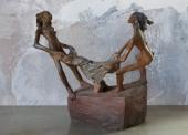 FERRE-N°405-Fille-au-drap-Bronze-1-sur-8