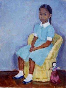 KLEIN N°8 Nicole et la poupée 1958 25F