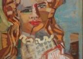 Jeune fille au collier