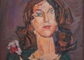 la femme brune