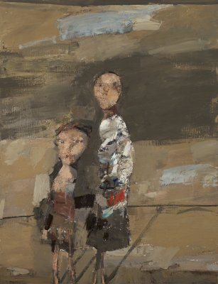 RUEL-N°98-2-personages-116x89-cm