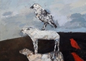 RUEL-N°97-3-animaux-116x89-cm