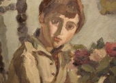 Cavailles N°539Bis - Touti au bouquet de fleurs 1921