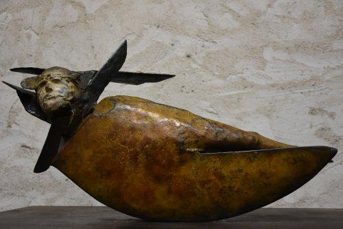 ALLEGRE-N°67-Equinoxe-Bronze-50x24x15