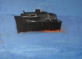 MARKANTONAKIS N°1 Paquebot noir TM 85x104
