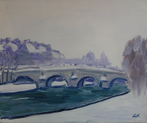 DRONNIKOV N°311 Paris (Quai mauve)