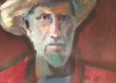 DRONNIKOV N°429 Autoportrait chapeau de paille
