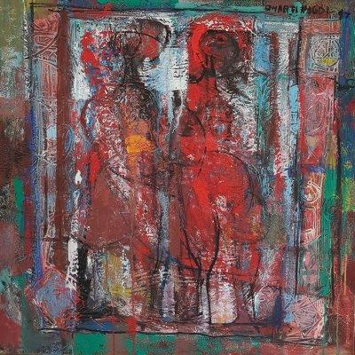 OMAR-N°578-Deux-filles-1997-HST-90x90