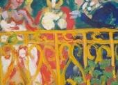 LIMOUSE femme au balcon