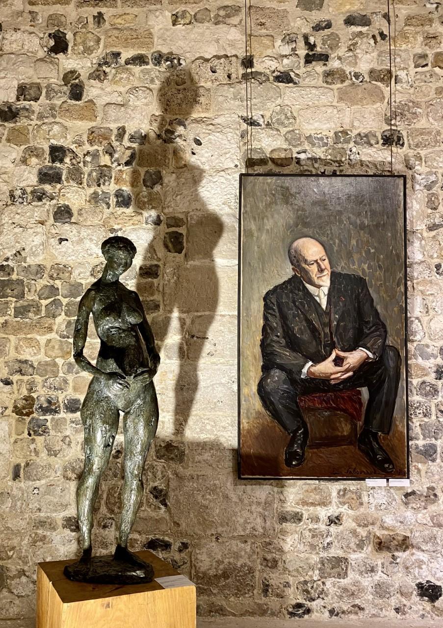 emile sabouraud et bernard mougin pour la galerie danielle bourdette gorzkowski honfleur art moderne exposition