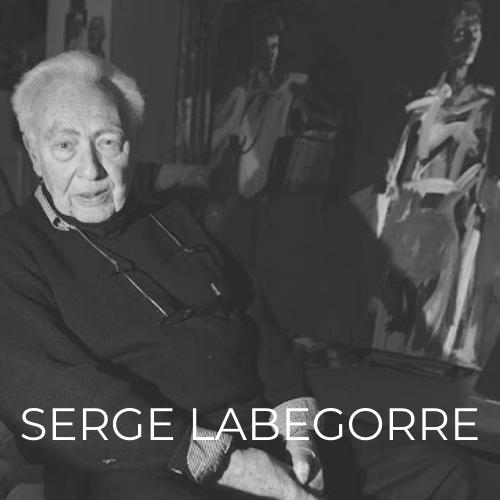 Serge Labegorre représenté par la Galerie Danielle Bourdette Gorzkowski à honfleur