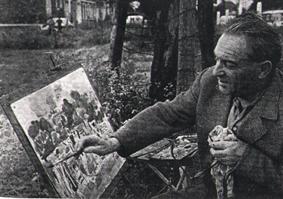 André planson représenté par la Galerie Danielle Bourdette Gorzkowski à honfleur