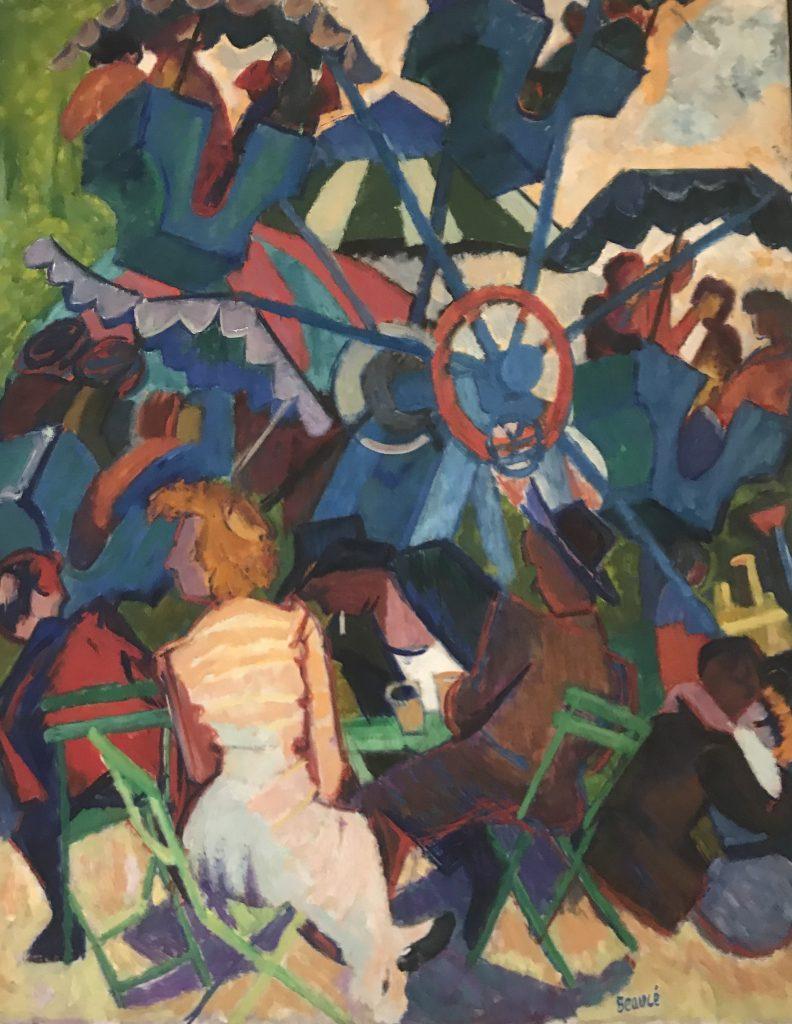 André Beaucé représenté par la Galerie Danielle Bourdette Gorzkowski à honfleur