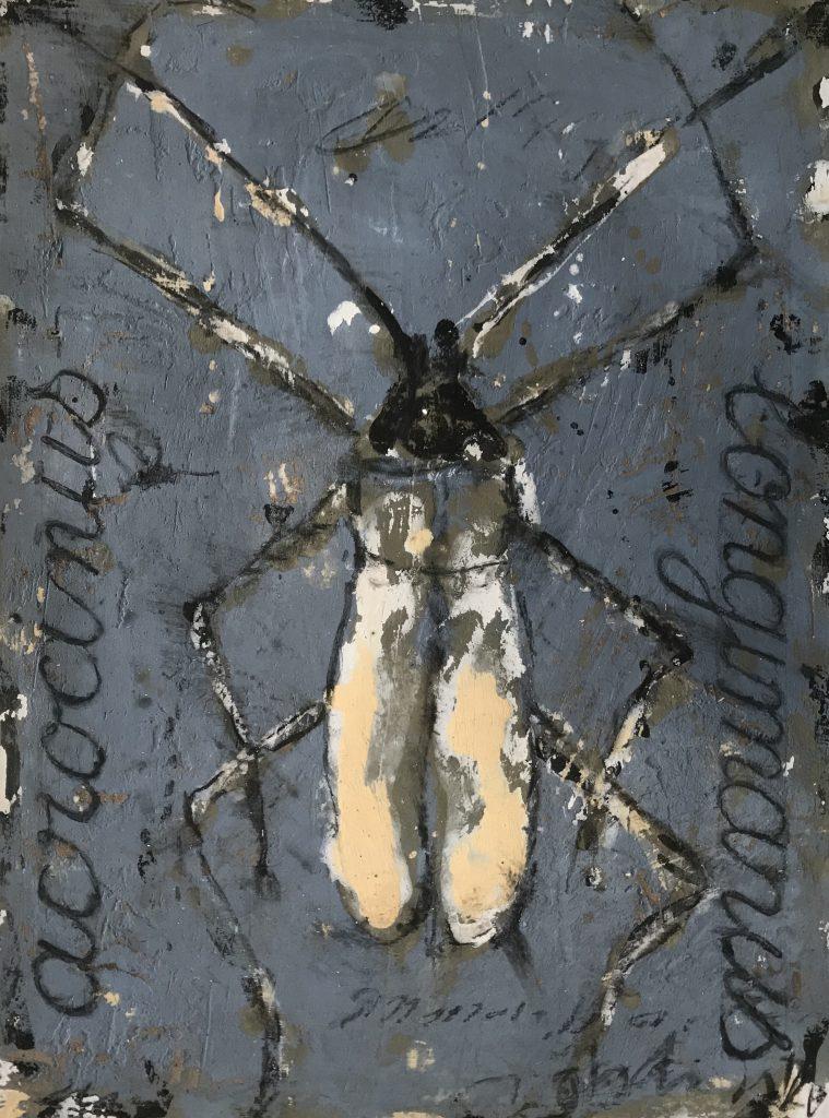 alexis gorodine représenté par la Galerie Danielle Bourdette Gorzkowski à honfleur