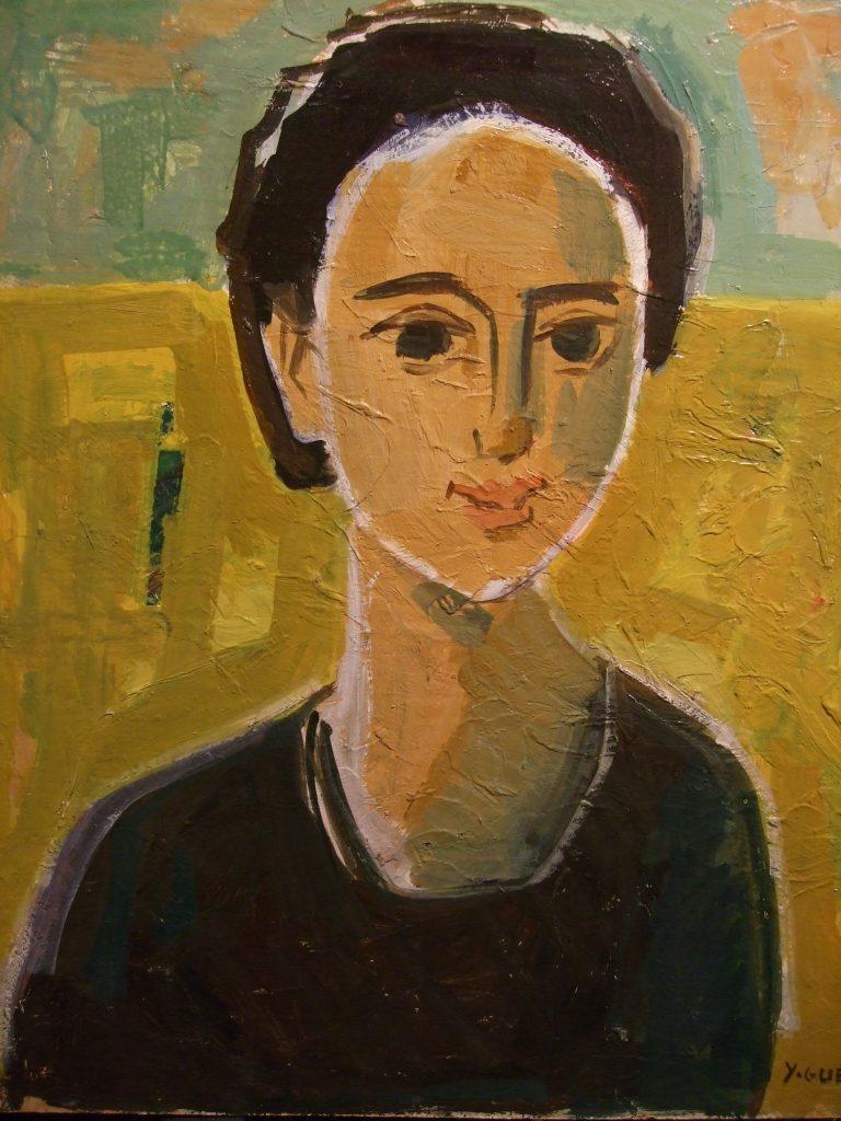 Yvonne GUEGAN représentée par la Galerie Danielle Bourdette Gorzkowski à honfleur