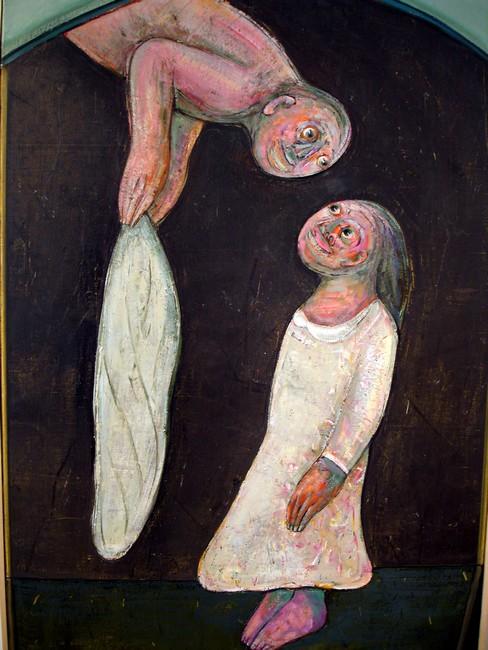 abraham hadad représenté par la Galerie Danielle Bourdette Gorzkowski à honfleur