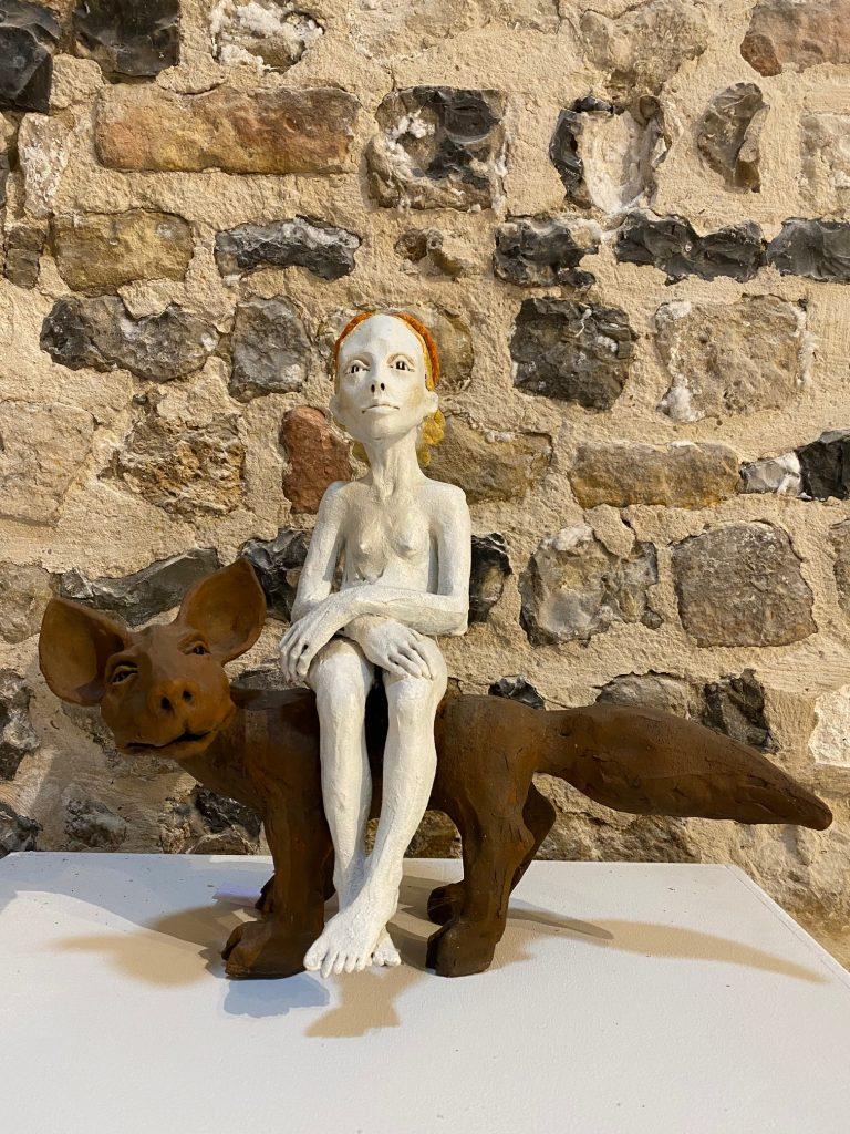 Ruta jusionyte représentée par la Galerie Danielle Bourdette Gorzkowski à honfleur