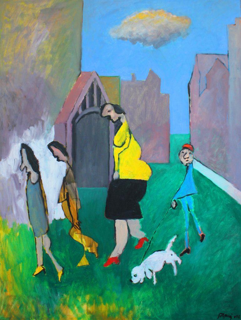 jacques pasquier représenté par la Galerie Danielle Bourdette Gorzkowski à honfleur