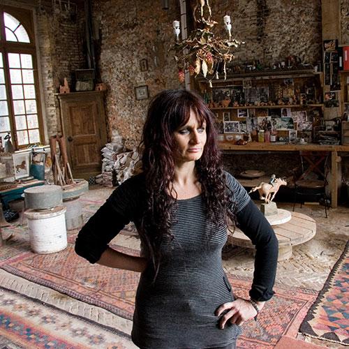 Fanny Ferré représentée par la Galerie Danielle Bourdette Gorzkowski à honfleur