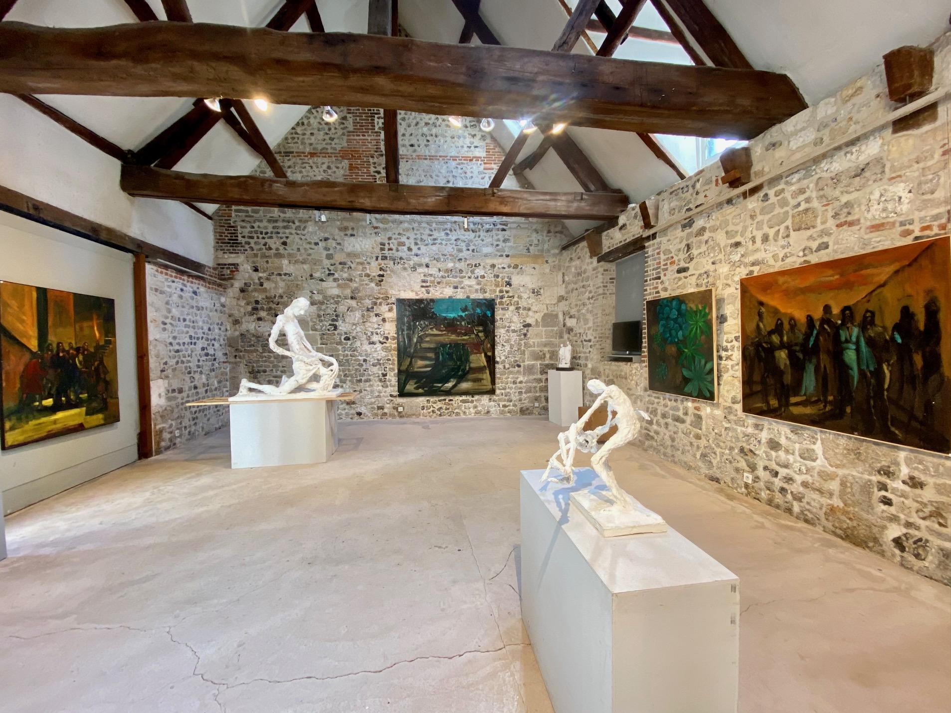 expositions à venir à la galerie danielle bourdette gorzkowski de honfleur