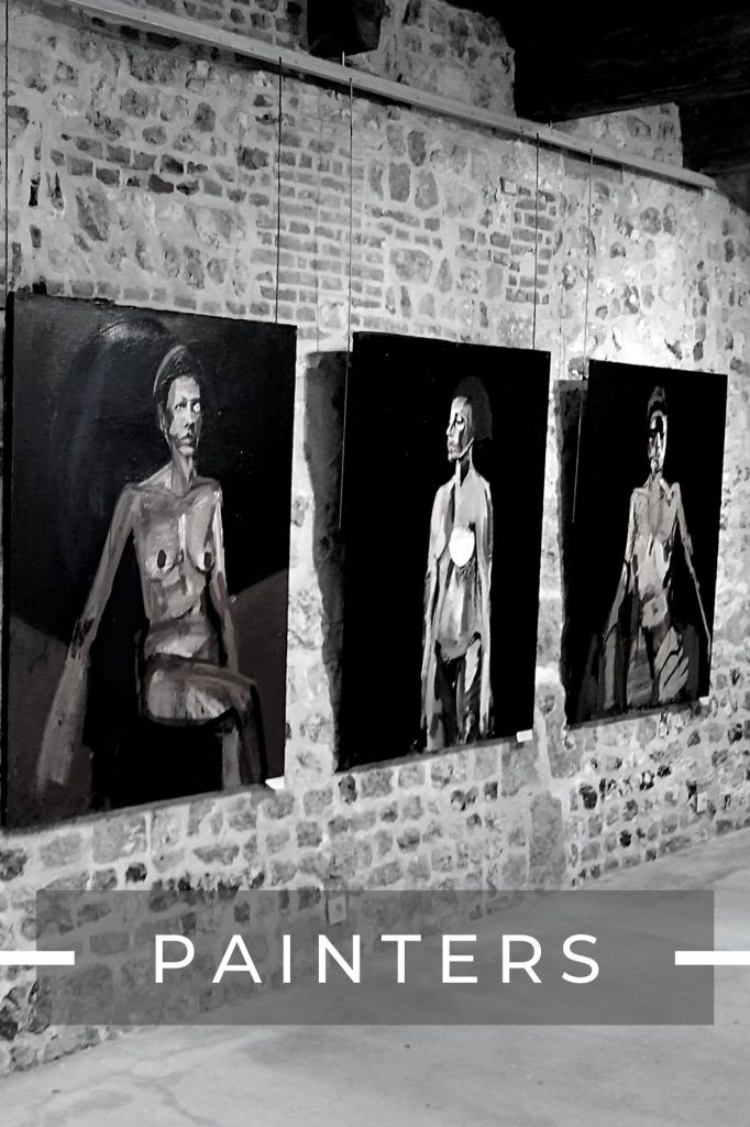 painters by galerie danielle bourdette gorzkwoski in Honfleur, France