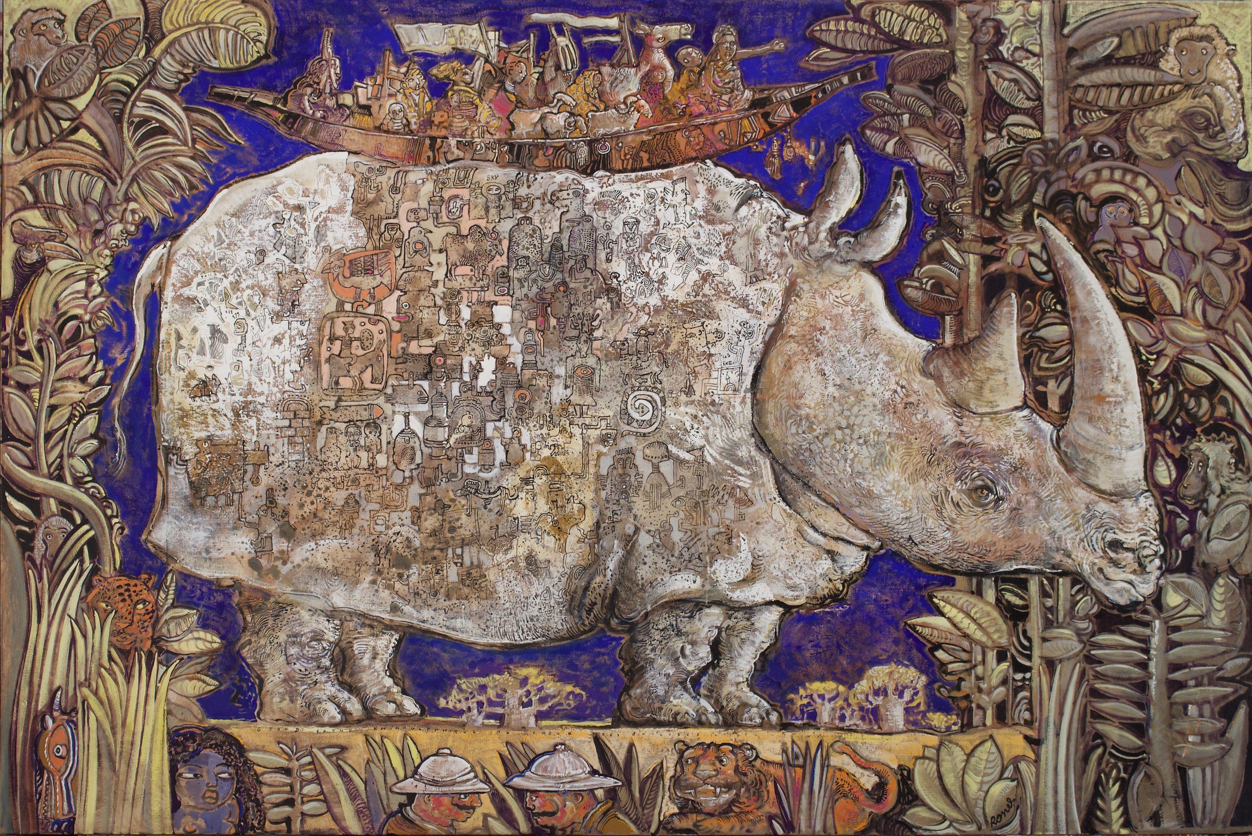 christophe ronel représenté par la Galerie Danielle Bourdette Gorzkowski à honfleur