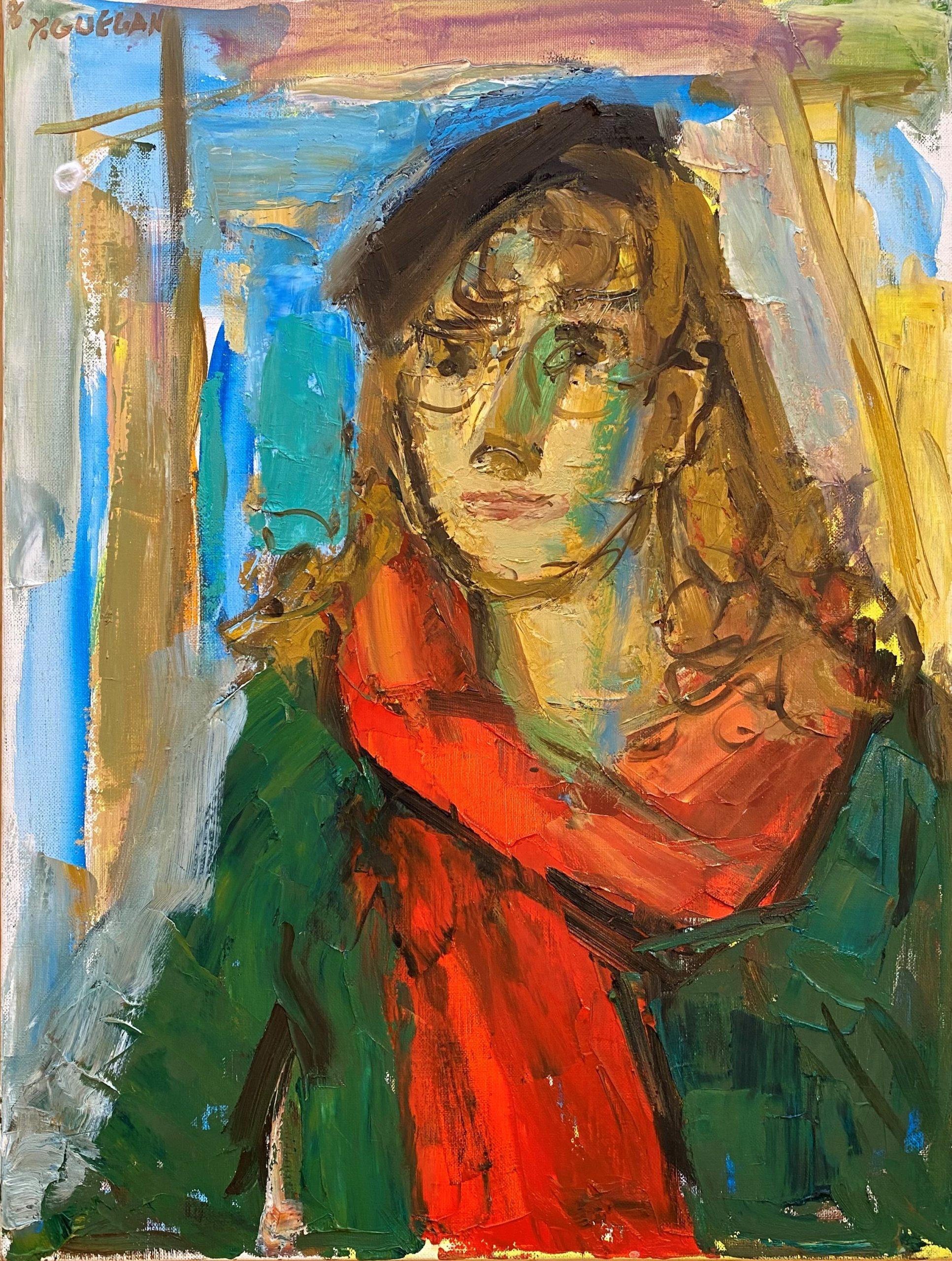 Yvonne guégan a la galerie danielle bourdette gorzkowski