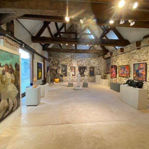 expositions passées et ancienne programmation de la galerie danielle bourdette gorzkowski à honfleur